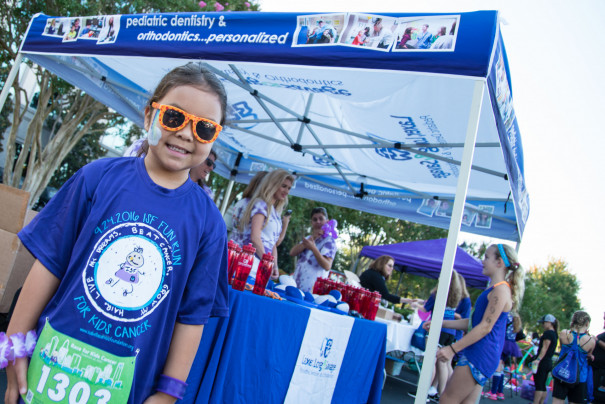 10th Annual Isabella Santos Foundation 5K for Kids Cancer Booth